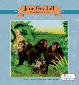 Cover: Jane Goodall: Friend of the Apes