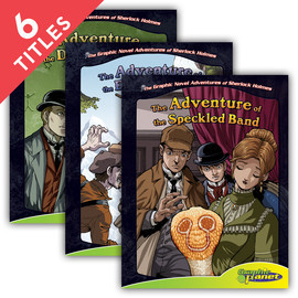 Cover: Graphic Novel Adventures of Sherlock Holmes
