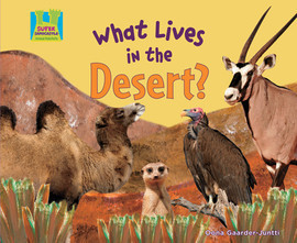 Cover: What Lives in the Desert?