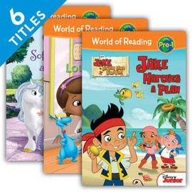 Cover: World of Reading Level Pre-1 Set 1