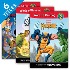 Cover: World of Reading Level 2 Set 1