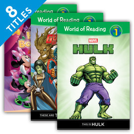 Cover: World of Reading Level 1 Set 2