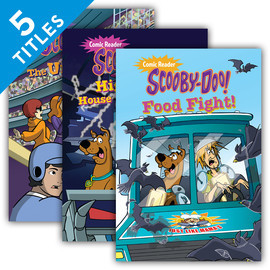 Cover: Scooby-Doo Comic Readers