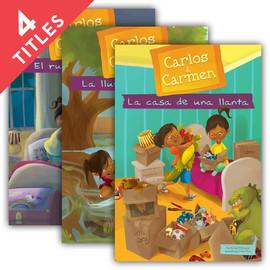 Cover: Carlos & Carmen Set 1 (Spanish Version)