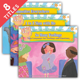 Cover: Story Time with Signs & Rhymes Set 2