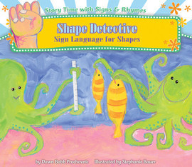 Cover: Shape Detective: Sign Language for Shapes