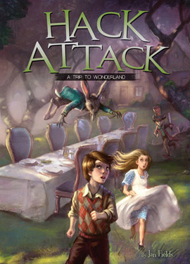 Cover: Hack Attack: A Trip to Wonderland Book 1