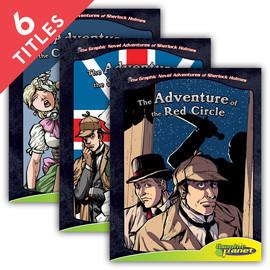 Cover: Graphic Novel Adventures of Sherlock Holmes Set 3