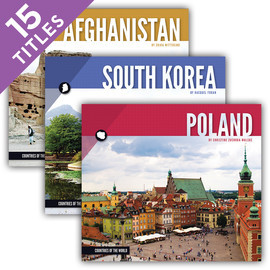 Cover: Countries of the World Set 2
