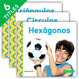 Cover: ¡Formas divertidas! (Shapes Are Fun! ) (Spanish Version)