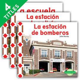 Cover: Mi comunidad: Lugares (My Community: Places) (Spanish Version)