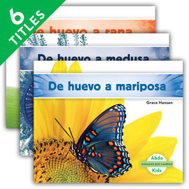 Cover: Animales que cambian (Changing Animals) (Spanish Version)