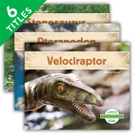 Cover: Dinosaurios (Dinosaurs) (Spanish Version)