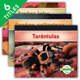 Cover: Arañas (Spiders) (Spanish Version)