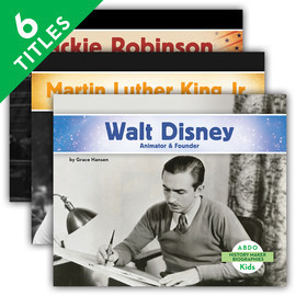 Cover: History Maker Biographies