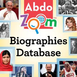 Cover: Abdo Zoom Biographies Database
