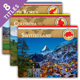 Cover: Explore the Countries Set 3
