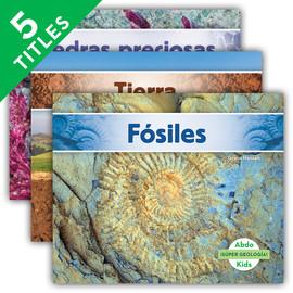Cover: ¡Súper geología! (Geology Rocks!) (Spanish Version)
