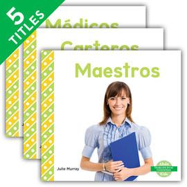 Cover: Trabajos en mi comunidad (My Community: Jobs) (Spanish Version)