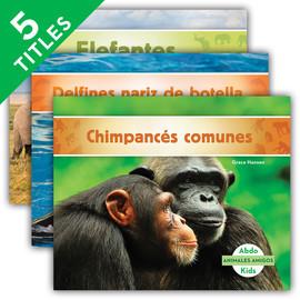 Cover: Animales amigos (Animal Friends) (Spanish Version)