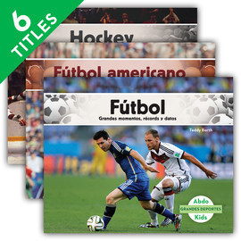 Cover: Grandes deportes (Great Sports) (Spanish Version)