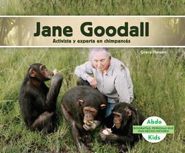 Cover: Jane Goodall: Activista y experta en chimpancés