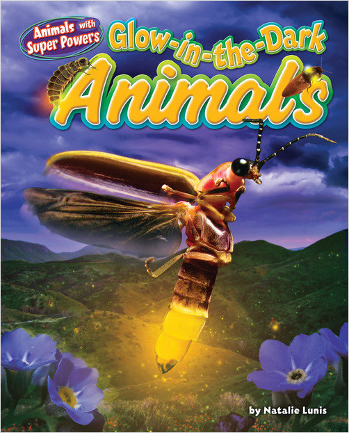 Cover: Glow-in-the-Dark Animals