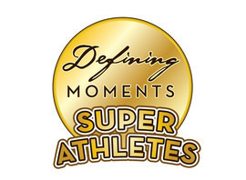 Cover: Defining Moments: Super Athletes