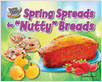 """Cover: Spring Spreads to """"Nutty"""" Breads"""