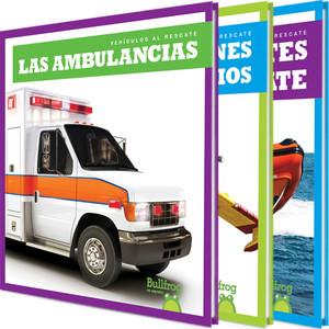 Cover: Vehículos al rescate (Machines to the Rescue)