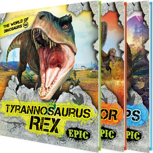 Cover: The World of Dinosaurs