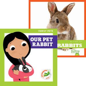 Cover: Rabbits + Our Pet Rabbit