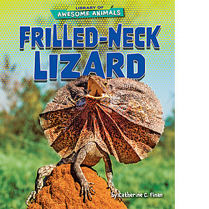 Cover: Frilled-Neck Lizard