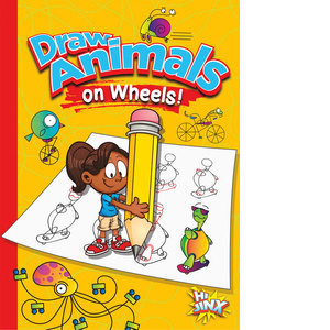 Cover: Draw Animals on Wheels!