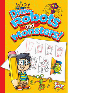 Cover: Draw Robots and Monsters!