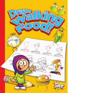 Cover: Draw Walking Food!