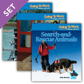 Cover: Going To Work: Animal Edition