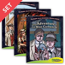 Cover: Graphic Novel Adventures of Sherlock Holmes Set 2