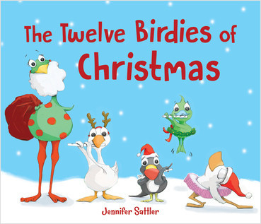 Cover: The Twelve Birdies of Christmas