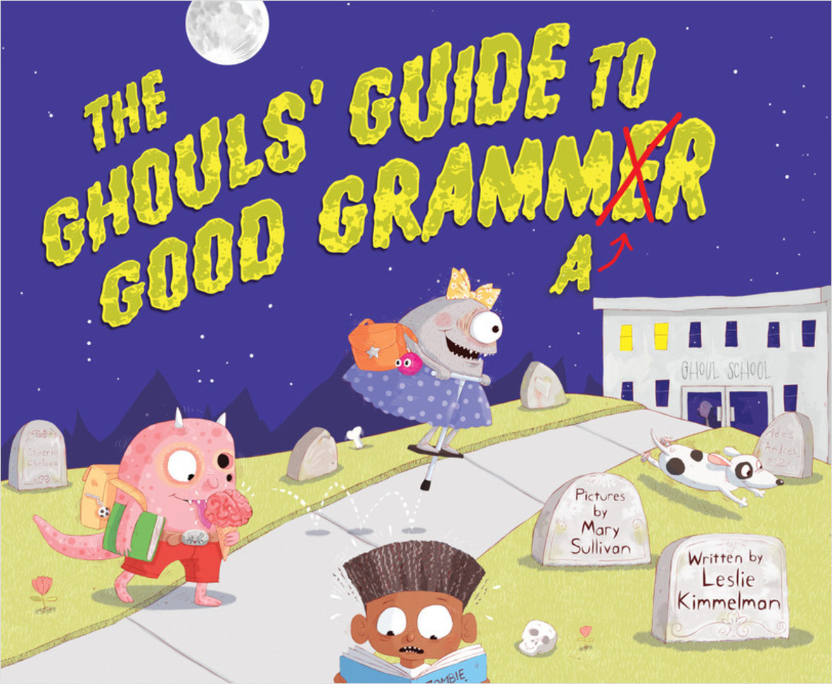 Cover: The Ghouls' Guide to Good Grammar