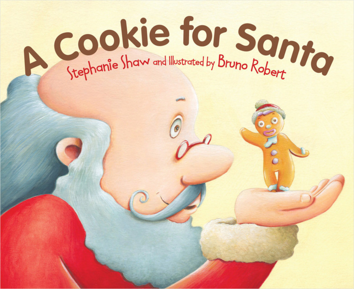 Cover: A Cookie for Santa