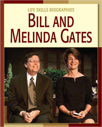 Cover: Bill and Melinda Gates