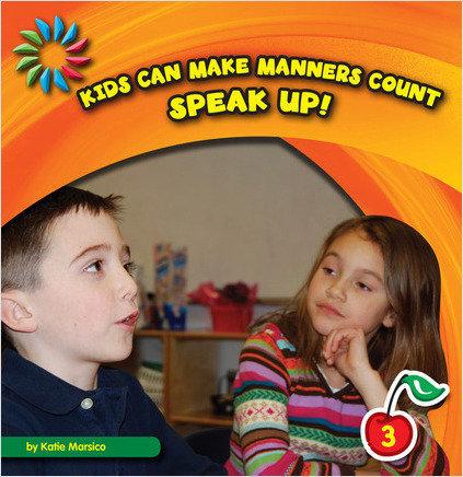 Cover: Speak Up!