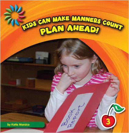 Cover: Plan Ahead!