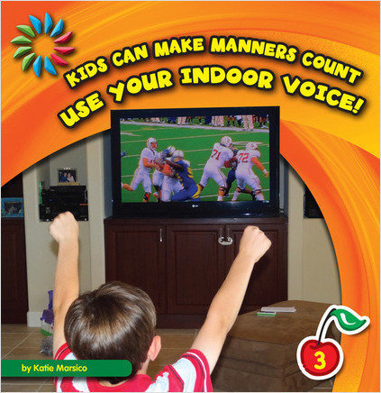 Cover: Use Your Indoor Voice!