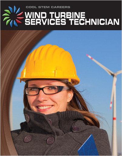 Cover: Wind Turbine Service Technician
