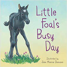 Cover: Little Foal's Busy Day