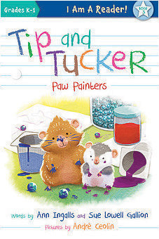 Cover: Tip and Tucker Paw Painters