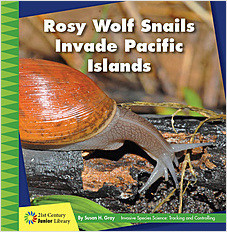 Cover: Rosy Wolf Snails Invade Pacific Islands