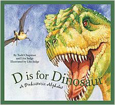 Cover: D is for Dinosaur: A Prehistoric Alphabet
